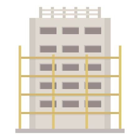 House project icon. Flat illustration of house project vector icon for web Иллюстрация