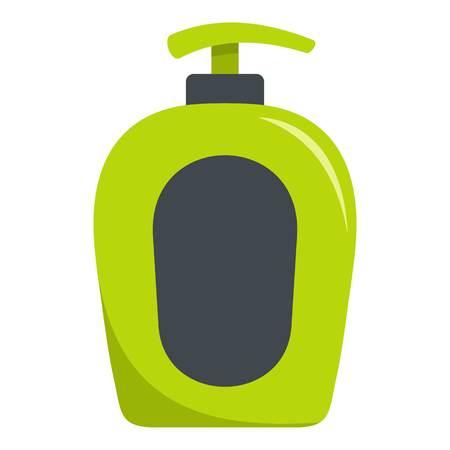 Soap spray icon. Flat illustration of soap spray vector icon for web