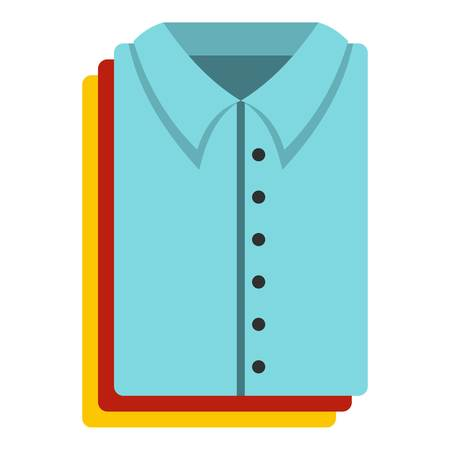 Clothes icon. Flat illustration of clothes vector icon for web