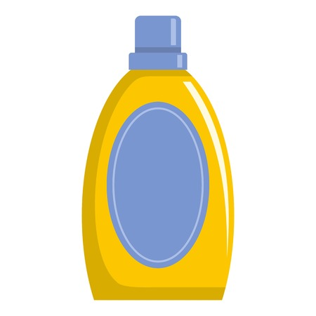 Detergent icon. Flat illustration of detergent vector icon for web