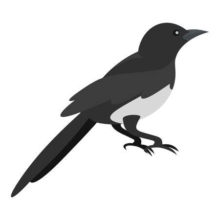 Domestic magpie icon.