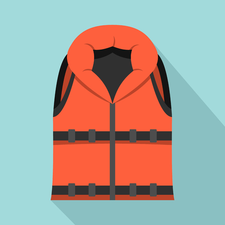 Lifeguard vest icon. Illustration