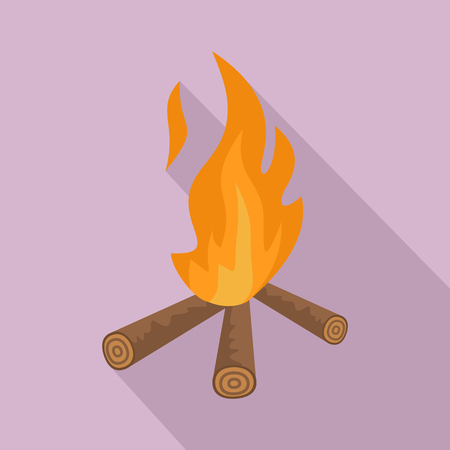 Hunting fire icon.