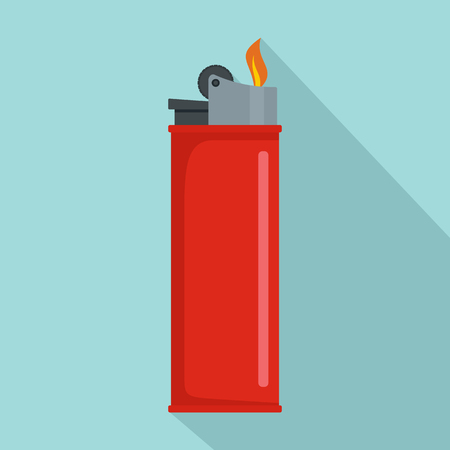 Ilustración de vector de icono de encendedor