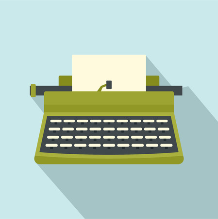 Retro typewriter icon Banque d'images - 100986207