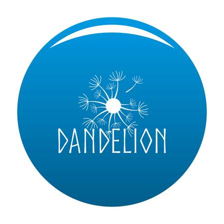 Blooming dandelion icon.