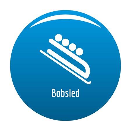 Bobsled icon. Illustration
