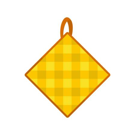 Potholder icon. Flat illustration of potholder vector icon for web