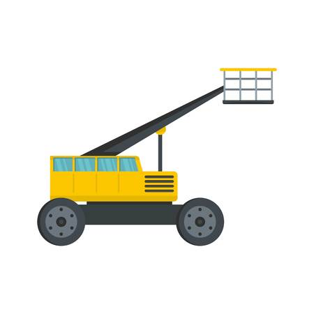 Working platform icon. Flat illustration of working platform vector icon for web