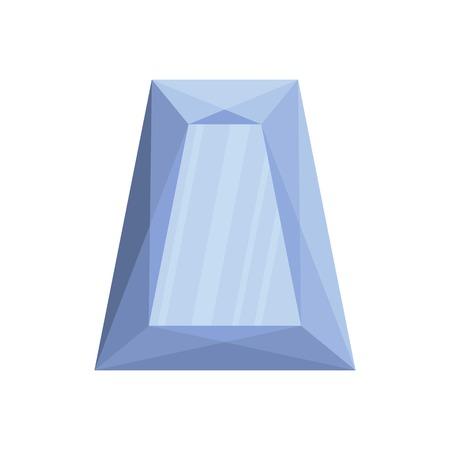 Precious stone icon. Flat illustration of precious stone vector icon for web.