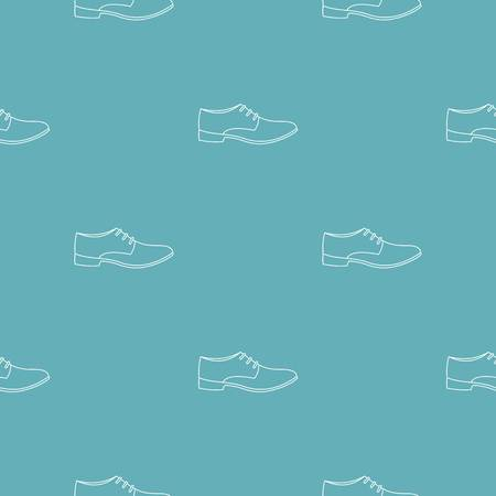 Men shoe pattern vector seamless repeating for any web design