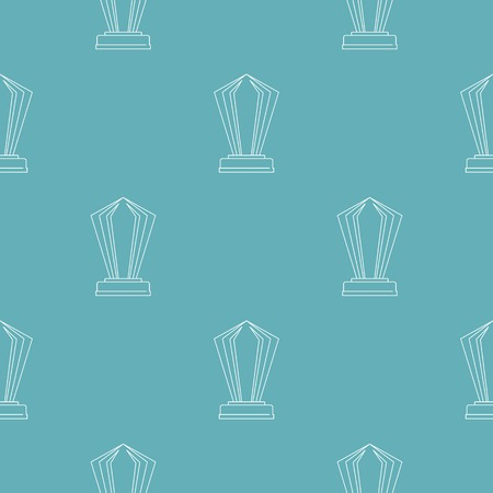 Award pattern vector seamless repeating for any web design