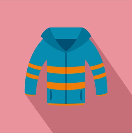 Icône de veste d'hiver. Télévision illustration de l'icône de vecteur de veste d'hiver pour la conception web