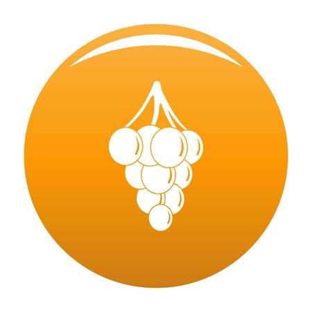 Southerly burger icon. Simple illustration of southerly burger vector icon for any design orange Векторная Иллюстрация