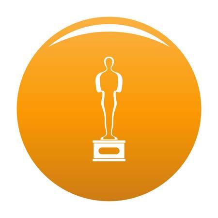 Award icon. Simple illustration of award vector icon isolated on white background