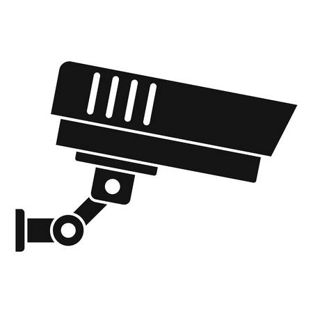 Outdoor security icon. Simple illustration of outdoor security vector icon for web design isolated on white background