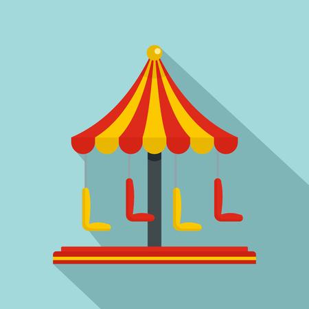 Icône de carrousel de cirque. Télévision illustration de l'icône de vecteur de carrousel de cirque pour la conception web