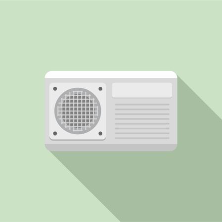Icône de ventilateur de conditionneur. Télévision illustration de l'icône vecteur ventilateur conditionneur pour la conception web Vecteurs