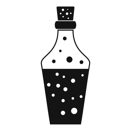 Potion icon. Simple illustration of potion vector icon for web design isolated on white background