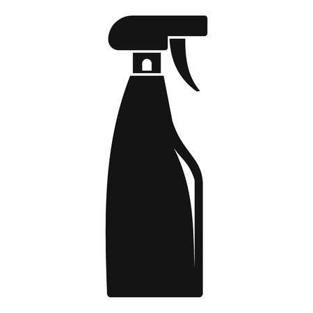 Cleaning spray icon, simple style