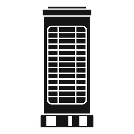 Heater stand icon. Simple illustration of heater stand vector icon for web design isolated on white background