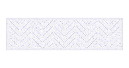 Mint gum stick mockup. Realistic illustration of mint gum stick vector mockup for web design isolated on white background