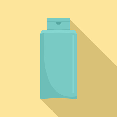 Conditioner bottle icon. Flat illustration of conditioner bottle vector icon for web design