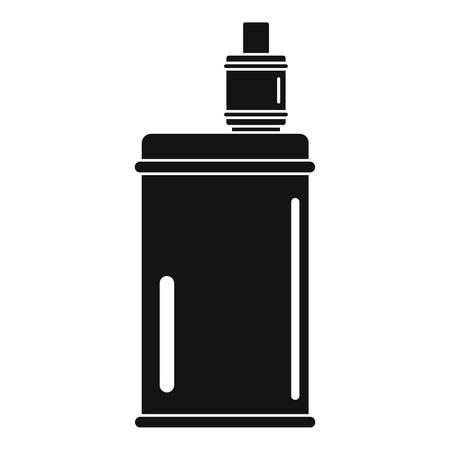Vape mod icon, simple style Stock Illustratie