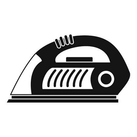 Icône de fer. Simple illustration de l'icône vecteur de fer pour la conception web isolé sur fond blanc