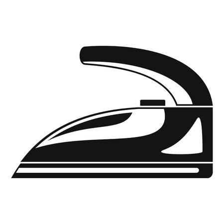 Symbol für Stahleisen. Einfache Illustration der Stahleisenvektorikone für das Webdesign lokalisiert auf weißem Hintergrund