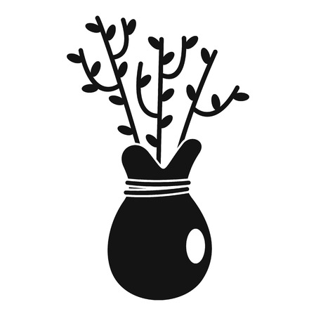 Plant for seed icon. Simple illustration of plant for seed vector icon for web design isolated on white background 向量圖像