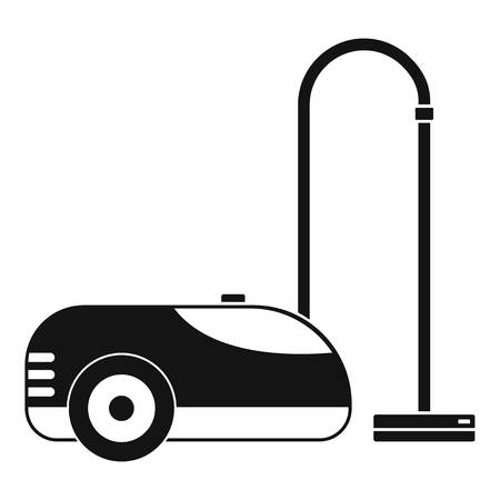 Wash vacuum cleaner icon, simple style