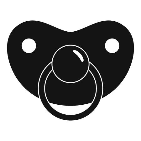 Girl icon. Simple illustration of girl vector icon for web design isolated on white background Vektorgrafik