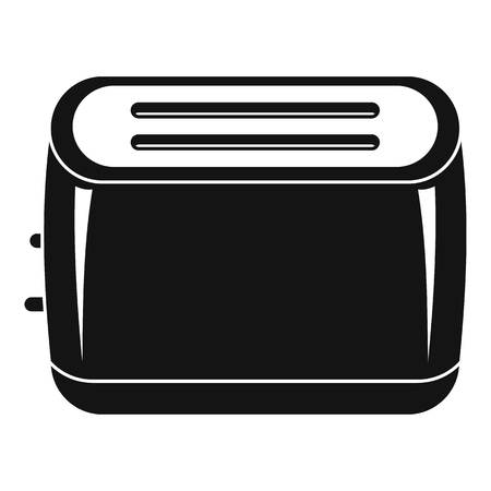 Toaster icon. Simple illustration of toaster vector icon for web design isolated on white background