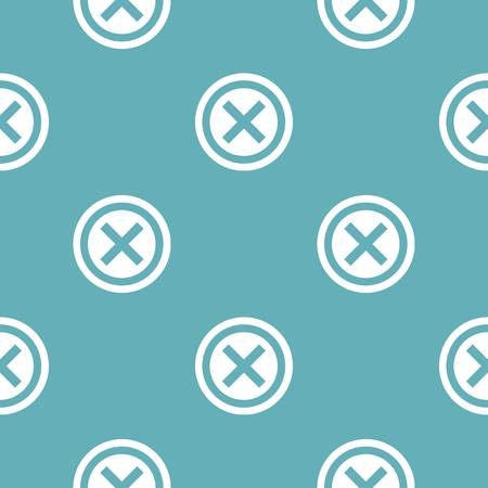 Not pattern seamless blue. Simple illustration of   pattern seamless geometric repeat background