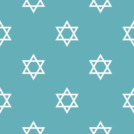 David star pattern seamless blue. Simple illustration of   pattern seamless geometric repeat background