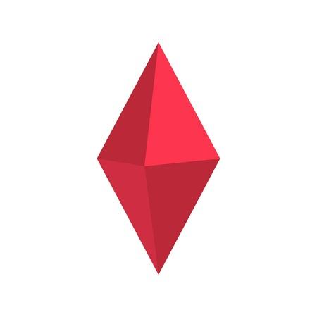 Arrow pin icon, flat style.