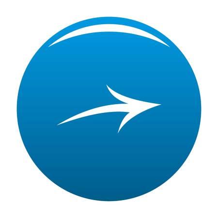 Arrow icon blue circle isolated on white background Stock Photo - 105798225