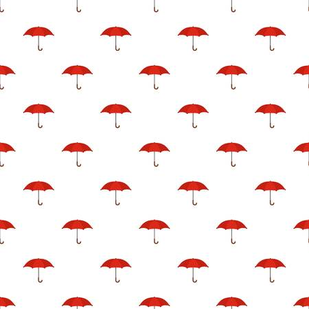 Umbrella pattern seamless in flat style for any design