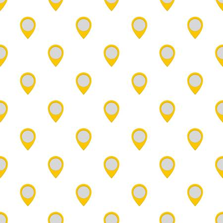 Navigation mark pattern seamless in flat style for any design Stock Photo