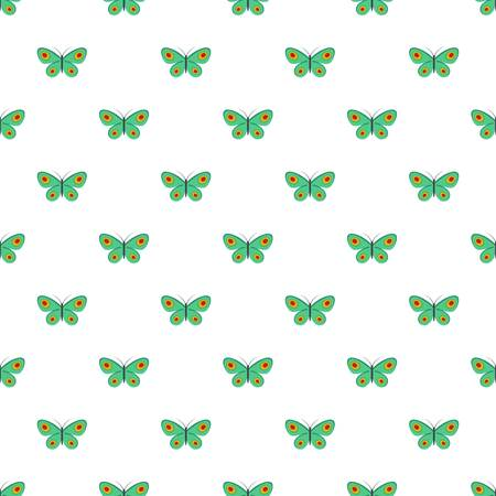 Unknown butterfly pattern seamless in flat style for any design Stock Photo
