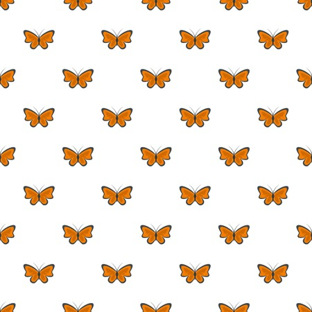 Bright butterflypattern seamless in flat style for any design
