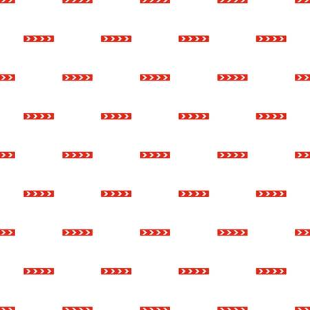 Detour on the right side pattern seamless in flat style for any design