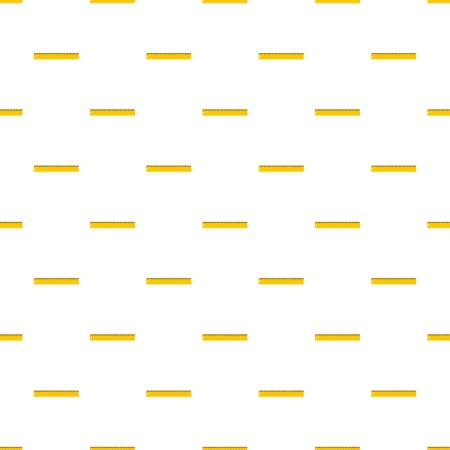 Yellow line pattern seamless in flat style for any design