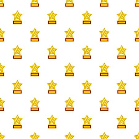 Star award pattern seamless in flat style for any design