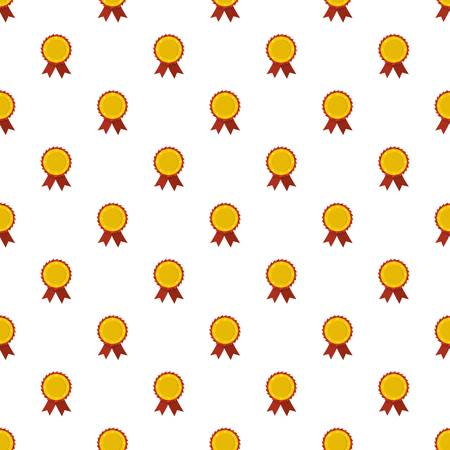 Award ribbon pattern seamless in flat style for any design