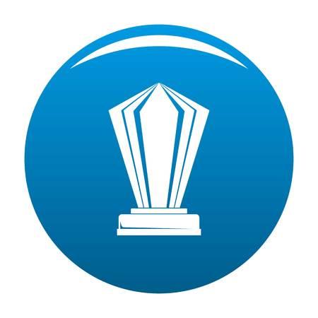 Award icon blue