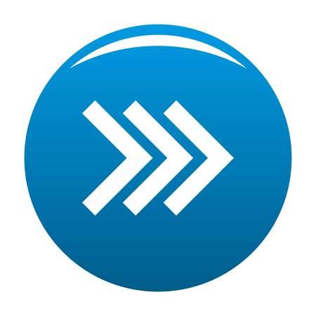Arrow icon blue circle isolated on white background Stock Photo - 105906147