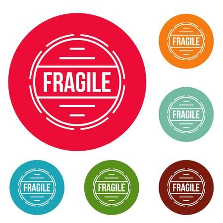 Fragile, simple style.