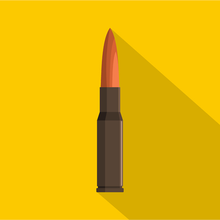 Bullet icon. Flat illustration of bullet icon for web Stock Photo
